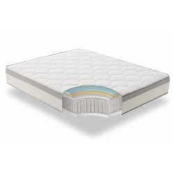 MATTRESS SPRING FLEX BAGGED SPRINGS + MEMORY FOAM